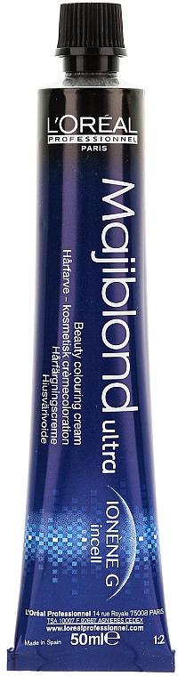 Coloración permanente de cabello, tonos rubios - L'Oreal Professionnel Majiblond Ultra (sin oxidante) — imagen N2