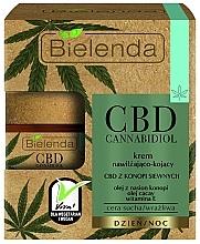 Perfumería y cosmética Crema facial hidratante y calmante con vitamina E y aceite de semilla de cáñamo - Bielenda CBD Cannabidiol Cream