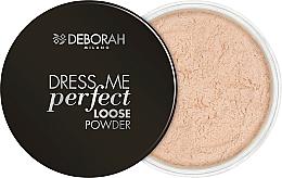 Perfumería y cosmética Polvo facial suelto - Deborah Dress Me Perfect Loose Powder