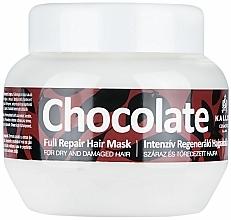 Perfumería y cosmética Mascarilla capilar intensiva con extracto de cacao - Kallos Cosmetics Chocolate Mask