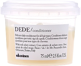 Perfumería y cosmética Acondicionador con extracto de apio rojo - Davines Essential Haircare Dede Delicate Air Conditioning