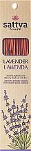 Perfumería y cosmética Varitas de incienso con aroma a lavanda - Sattva Lavender