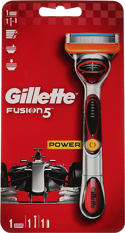 Maquinilla de afeitar eléctrica - Gillette Fusion5 ProGlide Power