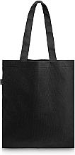 Perfumería y cosmética Bolso shopper, negro (45x30cm) - MakeUp Eco Friendly Tote Bag Black Perfect Style