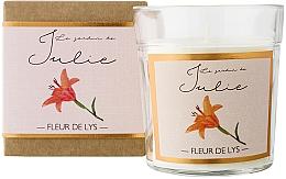 Perfumería y cosmética Vela aromática, lirio - Ambientair Le Jardin de Julie Fleur de Lys