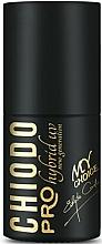 Perfumería y cosmética Esmalte gel de uñas híbrido con alta pigmentación, UV - Chiodo Pro Black & White Style