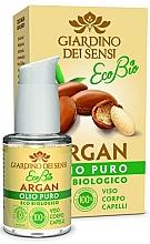 Perfumería y cosmética Aceite de argán puro para rostro, cuerpo y cabello - Giardino Dei Sensi Eco Bio Face Body Hair Argan Oil