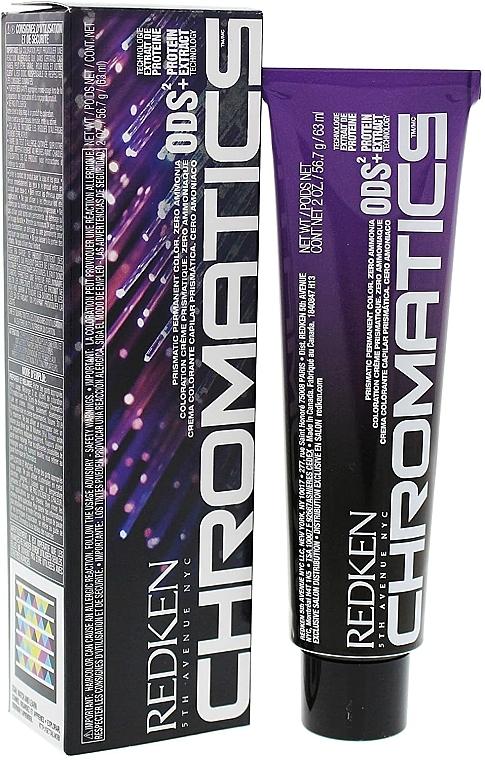 Tinte permanente para cabello, sin amoníaco - Redken Chromatics