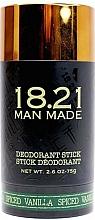 Perfumería y cosmética Desodorante antitranspirante en stick con vainilla - 18.21 Man Made Deodorant Stick Spiced Vanilla