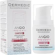 Perfumería y cosmética Crema de noche rejuvenecedora - Dermedic Angio Preventi Active Anti-Wrinkle Night