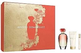 Perfumería y cosmética Adolfo Dominguez Unica Coral - Set (eau de toilette/100ml+eau de toilette/10ml+loción corporal/75ml)