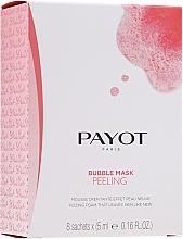 Perfumería y cosmética Mascarilla facial exfoliante con extracto de frambuesa - Payot Les Demaquillantes Peeling Oxygenant Depolluant Bubble Mask