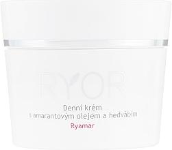 Perfumería y cosmética Crema de día con aceite de amaranto y extracto de seda - Ryor Ryamar