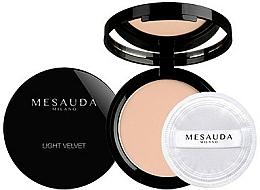 Perfumería y cosmética Polvo facial compacto con acabado mate - Mesauda Milano Light Velvet Powder