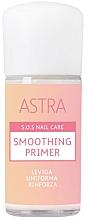 Perfumería y cosmética Prebase suavizante de uñas - Astra Make-up Sos Nails Care Smoothing Primer