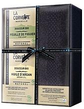 Perfumería y cosmética Set - La Corvette Douceur Bio Gift Box (jabón/2x100g + toalla/1pcs)