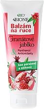 Perfumería y cosmética Bálsamo para manos con granada - Bione Cosmetics Pomegranate Hand Ointment With Antioxidants