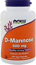 Perfumería y cosmética Complemento alimenticio en cápsulas D-manosa, 500 mg - Now Foods D-Mannose
