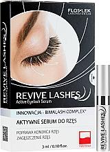 Perfumería y cosmética Sérum de pestañas regenerador con bimatoprost - Floslek Revive Lashes Eyelash Enhancing Serum