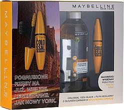 Perfumería y cosmética Set - Maybelline (máscara de pestañas/10.7ml + agua micelar/400ml)