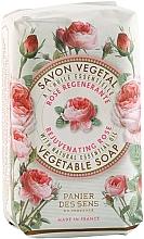 Perfumería y cosmética Jabón, rosa - Panier Des Sens Rose Soap
