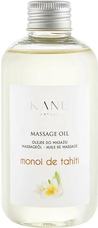 Aceite de masaje con aroma a monoi de tahití - Kanu Nature Monoi de Tahiti Massage Oil