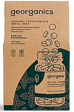 Perfumería y cosmética Pasta dental en tabletas con aceite de menta inglesa - Georganics Natural Toothtablets English Peppermint (recambio)