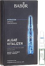 Perfumería y cosmética Concentrado activo hidratante y refrescante, 7uds./2ml - Babor Ampoule Concentrates Algae Vitalizer