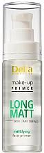 Perfumería y cosmética Prebase de maquillaje de larga duración con efecto mate - Delia Cosmetics Long Matt Make Up Primer