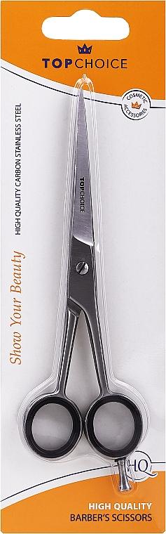 Tijeras de peluquería, L, 15,5/17cm, 20322, mate - Top Choice