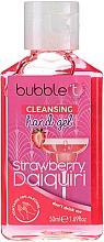 Perfumería y cosmética Gel de manos antibacteriano con aroma a daiquiri de fresa - Bubble T Cleansing Hand Gel Strawberry Daiquiri