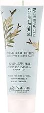 Perfumería y cosmética Crema de pies natural efecto desodorante con aceite de árbol de té y almendra - Le Cafe de Beaute Foot Cream