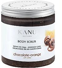 Perfumería y cosmética Exfoliante corporal con aroma a chocolate y naranja - Kanu NatureBody Scrub