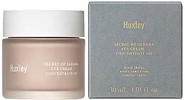 Perfumería y cosmética Crema contorno de ojos reparadora con extracto de cactus - Huxley Secret of Sahara Eye Cream Concentrate On