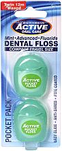 Perfumería y cosmética Hilo dental, sabor menta 12 m - Beauty Form Active Oral Care Dental Floss