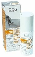 Perfumería y cosmética Gel facial de protección solar con filtros minerales, SPF 30 - Eco Cosmetics Gel Solarie Visage