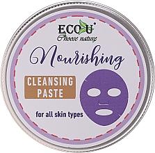 Perfumería y cosmética Pasta facial limpiadora con extracto de romero - ECO U Nourishing Cleansing Paste For All Skin Types