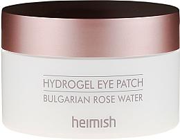 Perfumería y cosmética Parches de hidrogel para contorno de ojos con agua de rosas búlgaras - Heimish Bulgarian Rose Hydrogel Eye Patch