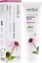 Perfumería y cosmética Pasta dental con extracto de equinácea - Melica Organic