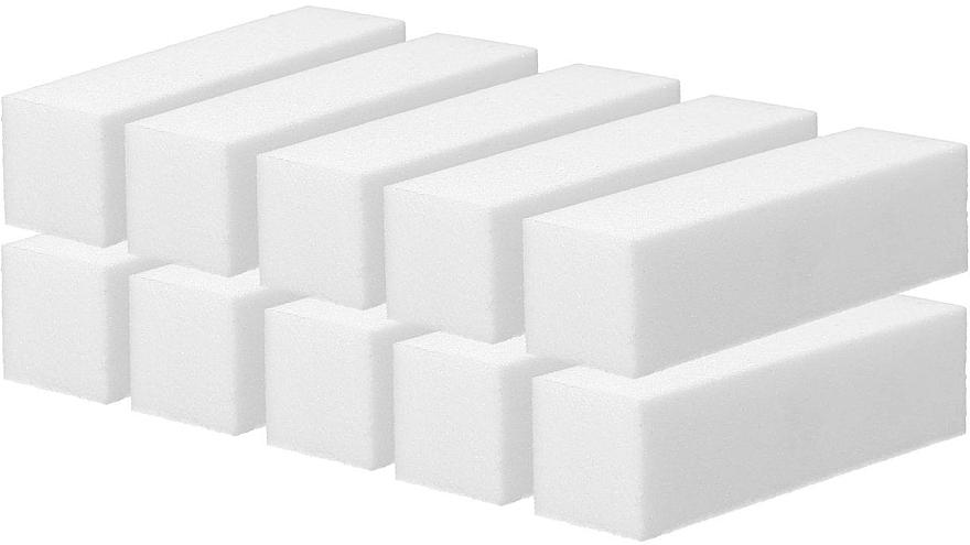 Bloque pulidor de uñas, blanco, 10uds. - Tools For Beauty — imagen N1