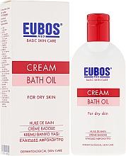 Perfumería y cosmética Aceite de baño con extracto de camomila para piel seca - Eubos Med Basic Skin Care Cream Bath Oil For Dry Skin