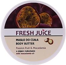 Perfumería y cosmética Manteca corporal con maracuya & aceite de macadamia - Fresh Juice Passion Fruit & Macadamia