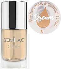 Perfumería y cosmética Aceite para uñas y cutículas, aroma cítrico - Semilac Care Nail & Cuticle Elixir Dream