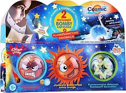 Perfumería y cosmética Set bombas de baño fluorescentes - Chlapu Chlap, Do It Yourself. Cosmic Bath Bomb