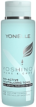Perfumería y cosmética Tónico facial con ácido láctico y tartárico natural - Yonelle Yoshino Pure & Care Bio-Active Revitalizing Tonic