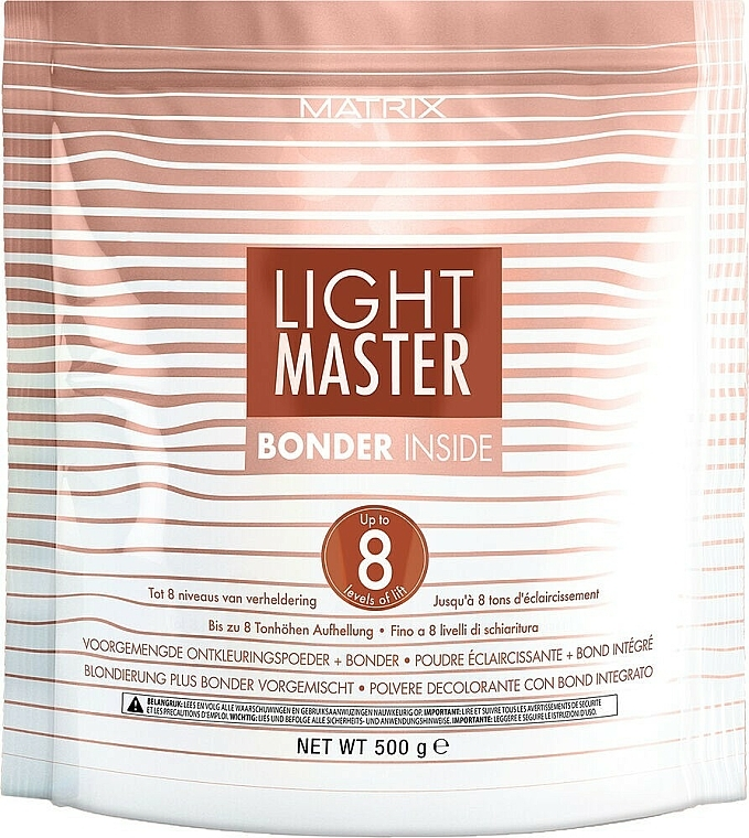 Polvo decolorante con complejo protector - Matrix Light Master 8 Bonder Inside