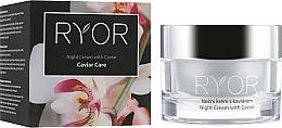 Perfumería y cosmética Crema de noche con extracto de caviar - Ryor Night Cream With Caviar