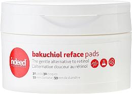 Perfumería y cosmética Discos de algodón postlimpieza facial con bakuchiol, contra inflamaciones e imperfecciones - Indeed Bakuchiol Reface Pads