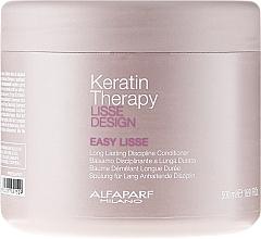 Perfumería y cosmética Acondicionador con queratina hidrolizada - Alfaparf Lisse Design Keratin Therapy Easy Lisse