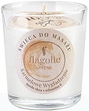 Perfumería y cosmética Vela de masaje en tarro con aroma a caramelo - Flagolie Caramel Smoothing Massage Candle